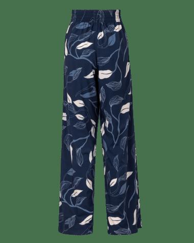 Menchupants pinkfilosofy atemporal pantalon azuloscuro estampado posterior
