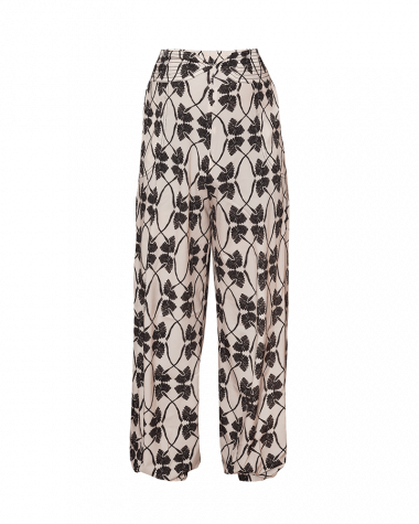 Dueropants pinkfilosofy newseed pantalon estampada ecru black